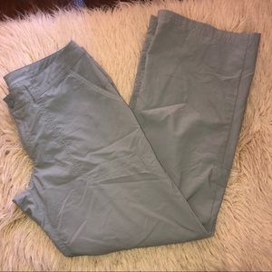 Women's PATAGONIA grey pants sz 6